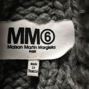 MM6 Maison Martin Margiela Sweaters - MM6 Maison Martin Margiela Chunky Gray Sweater